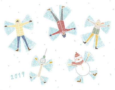 New Year's Card for TAKEaWALK.in