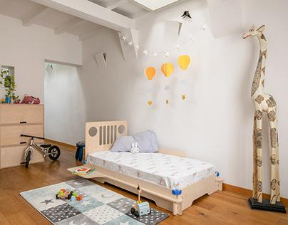 Happycentro Montessori Toddler bed