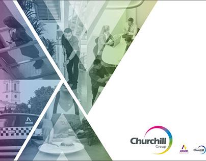 Churchill Group Template Design