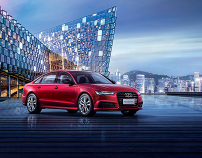 Audi A6L China Beijing 2017