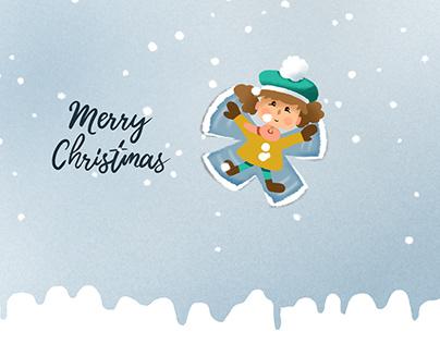 Christmas animation Dotolina