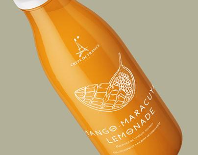 Дизайн для упаковки лимонада
