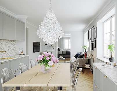 Scandinavian Apartment for BY Rydens #6