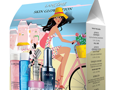 Lancôme packagings