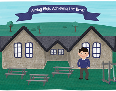 Black Lane School Illustration + Web Design