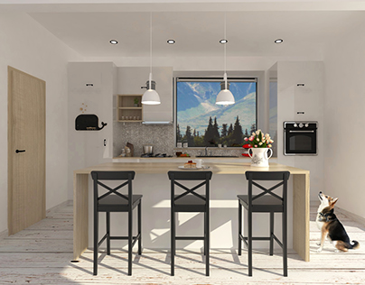 Scandinavian kitchen project