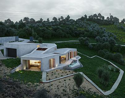 House in Portugal [Full CGI]