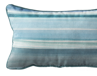 THE BLUE PAINTED STORY OF PILLOWS