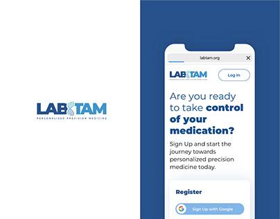 Labtam / DNA Medical Report / UX - UI