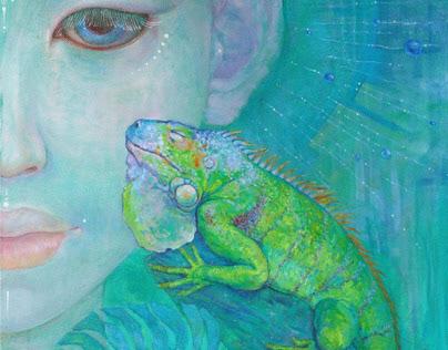 Green Avatar by Katya Didnik