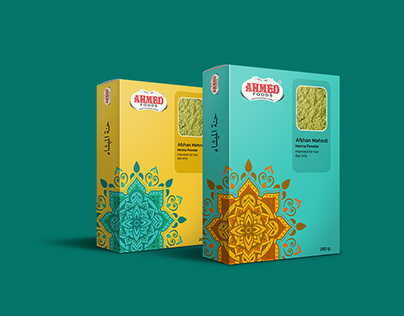Packaging Design proposal for Ahmed Foods
