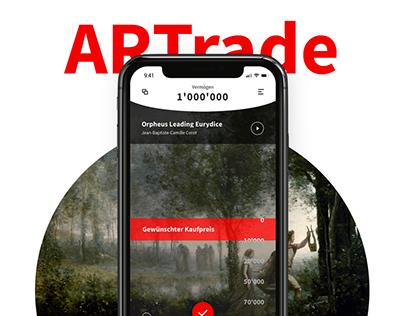 ARTrade – UI/UX