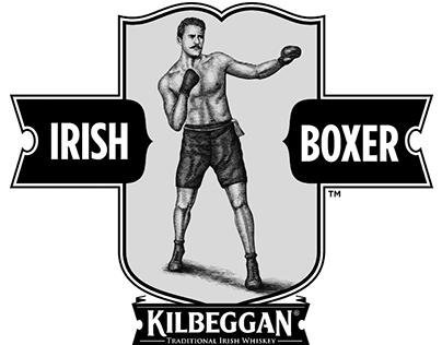 Kilbeggan: Irish Boxer Illustration by Steven Noble