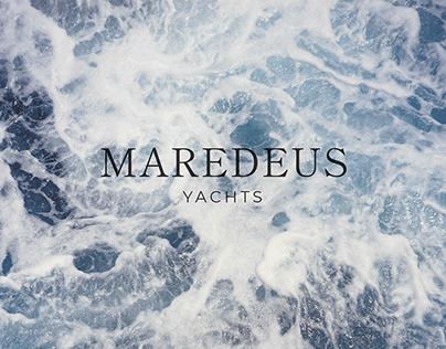 Логотип для компании по продаже яхт / Logotype MAREDEUS
