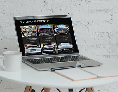 Victory Cars - luxurious cars website.