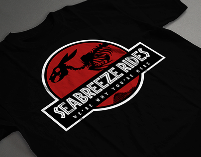 Seabreeze Rides Dept. 2015 T-Shirt Design