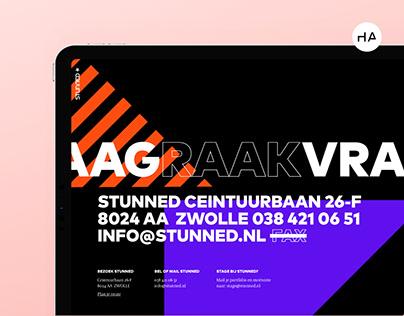 Stunned - Branding en UX/UI Design