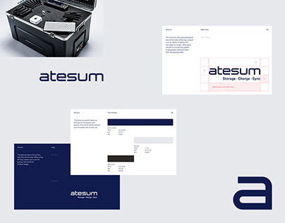 Logo design Atesum