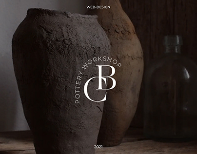 Web-design of the pottery school