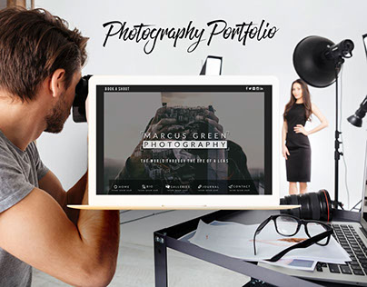 Marcus Green Photography ~ Web/App Interaction Design