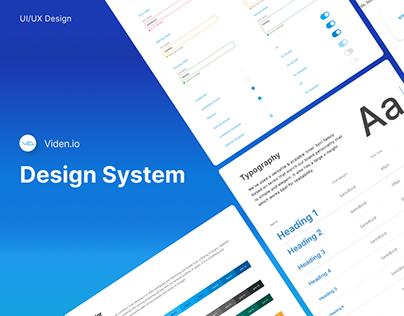 Design System - Viden.io