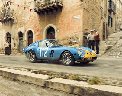Ferrari 250 GTO - A Swede Swerves Through Sicilians