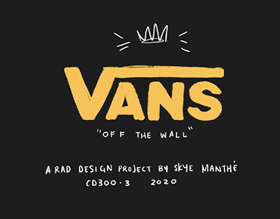 VANS: Creative Packaging Design