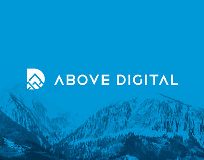 "Brand identity project for ""Above Digital"""