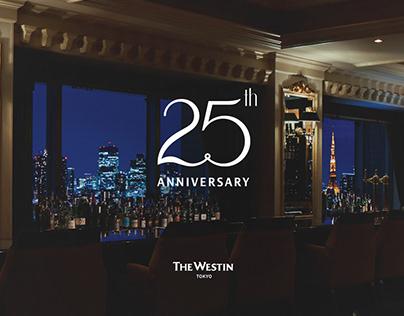 25th Anniversary Logo   Westin Tokyo