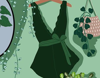 Girly Things - Digital Illustration