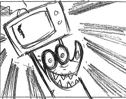 Edgar and Kipp - Storyboard sequence