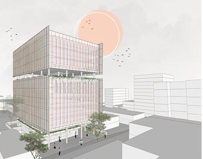 Projeto de ArquiteturaVIII   Edifício Comercial
