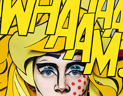 PopArt Bodypainting Shooting