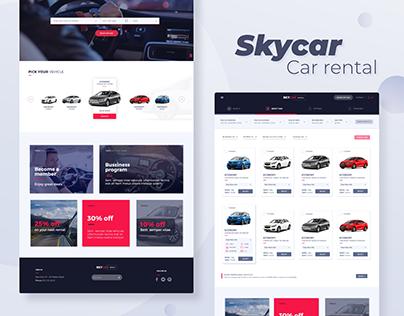 Sky Car rentals