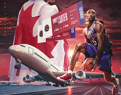 Vince Carter - Air Canada - collaboration