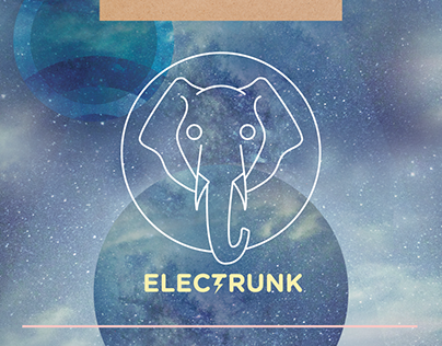 Electrunk Concert Moodboard & Website