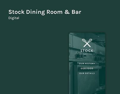 Stock Dining Room & Bar