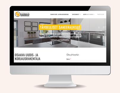 Web-Design | Tornion rakennussaneeraus