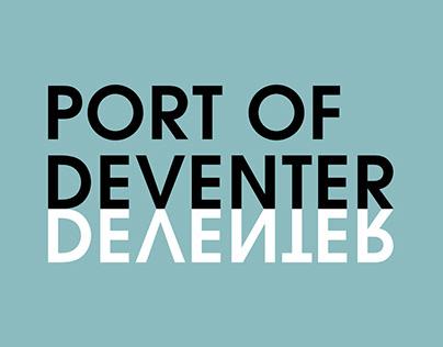 Visual identity & communication Port of Deventer