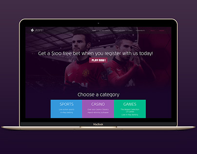 Online Betting WebSite Design