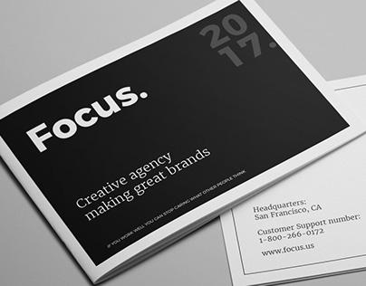 Focus - Agency Portfolio Brochure