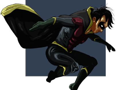 Robin/Dick Grayson (Sketchbook Mobile)