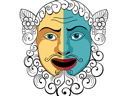 Masks of Drama and Comedy