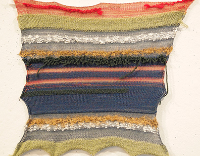 Single Bed Knitting Swatches