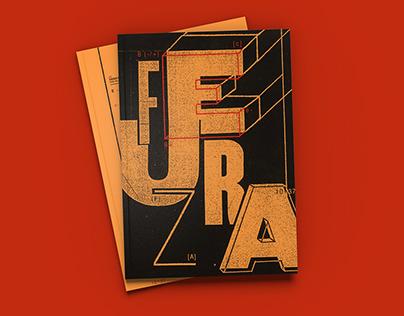 FUERZA | desplegable tipográfico