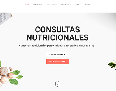 NutriSaludBsAs Desarrollo Web Wordpress