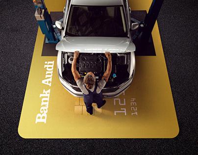 Volkswagen Service with Bank Audi