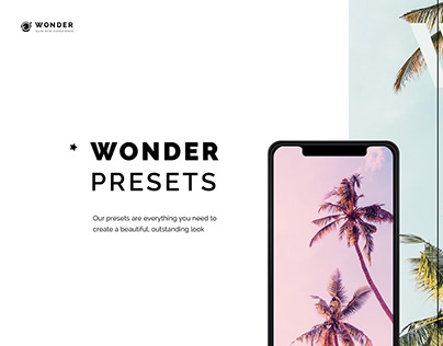 Wonder Application Design Concept