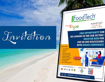 # e-Invitation for FoodTech India
