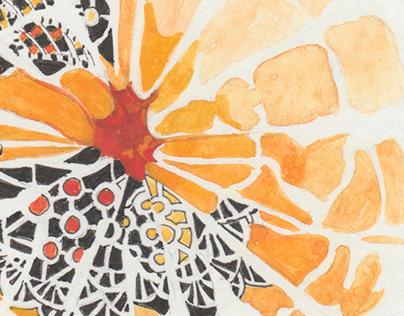 The tangerine read
